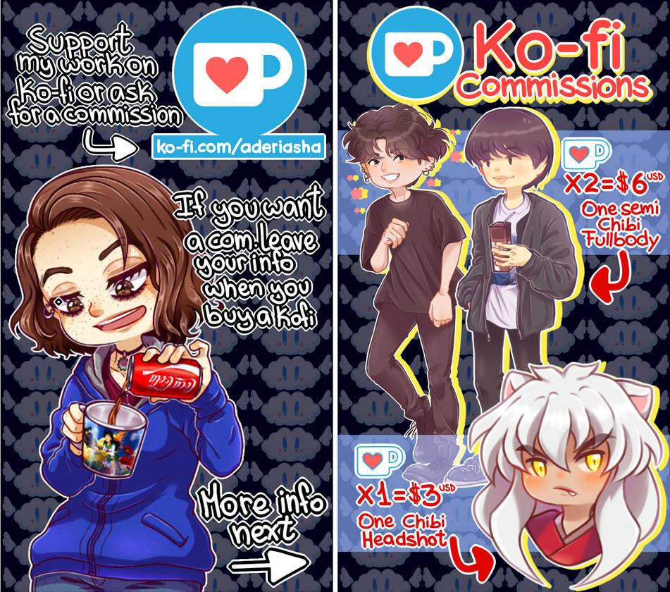 Ko-Fi Commissions
