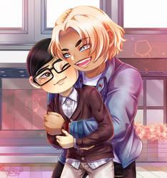 TokiGavin Hug