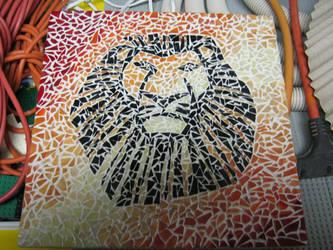 Lion King Mosaic