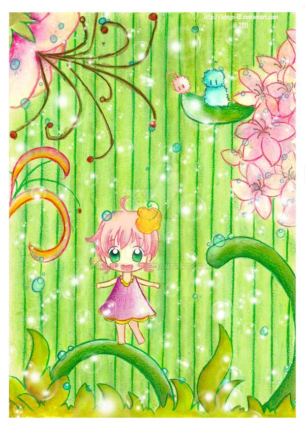 Spring Dance by ichigo-01