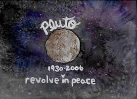 pluto- revolve in peace