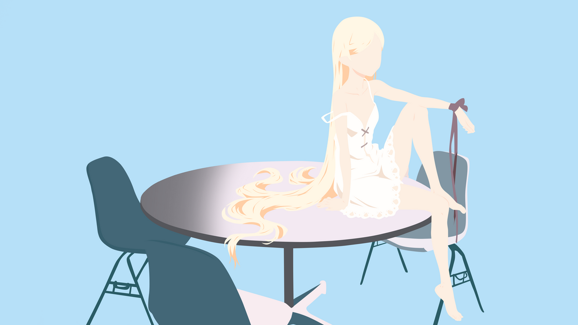 Oshino Shinobu 2.0 ( Monogatari Series ) by IcyRO-kun