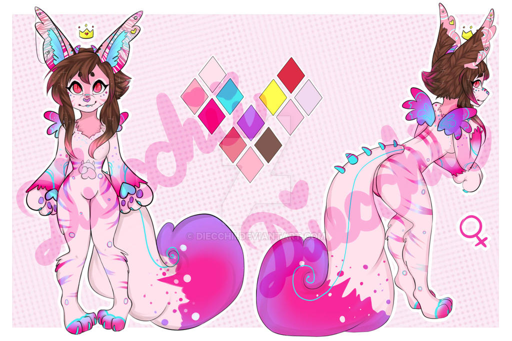 Adoptable New Species Fairiglow /cLOSED/ Part 1 by Diecchii