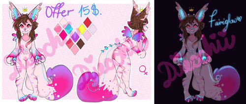 Adopt New Specie Fairiglow Closed OFFER by Diecchii
