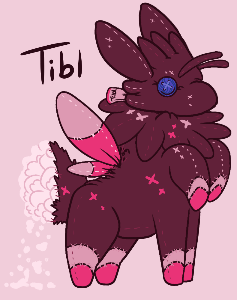 Tibl-stuffed doll