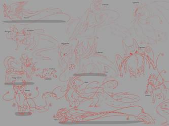 Kiji Sketches
