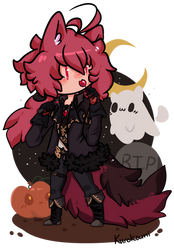 Chocobee  - Diluc Halloween Costume
