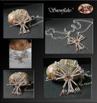 Snowflake- necklace