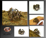 Labbi- wire wrapped ring