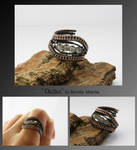 Dallas- wire wrapped ring