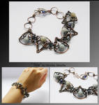 Sile- wire wrapped bracelet