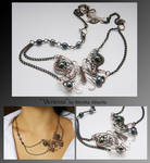 Vanessa- wire wrapped necklace