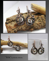 Ailla- wire wrapped earrings by mea00