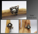 Ailla- wire wrapped ring