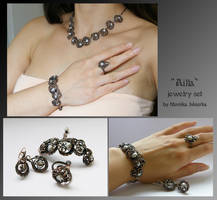 Ailla- jewelry set by mea00