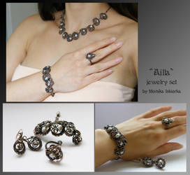 Ailla- jewelry set