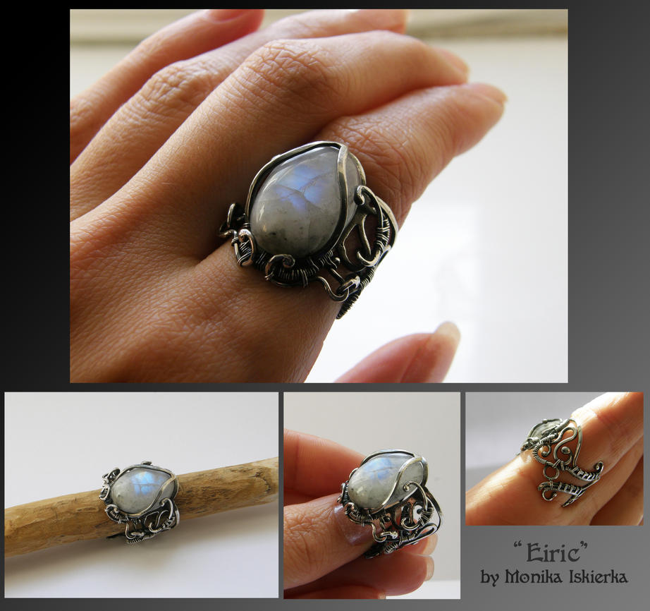 Eiric- wire wrapped ring by mea00