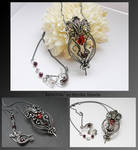 Kerenza- wire wrapped necklace