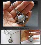 Eiric- wire wrapped necklace