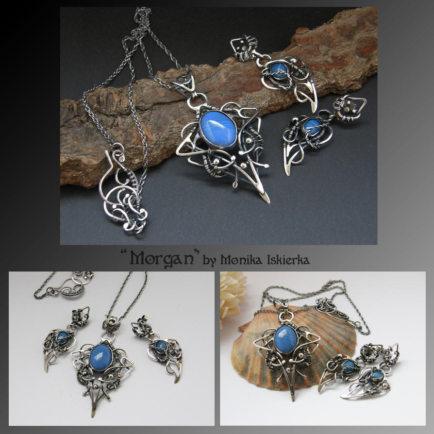 Morgan- wire wrapped set by mea00