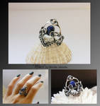 Rhan- wire wrapped ring