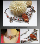 Sima- wire wrapped necklace