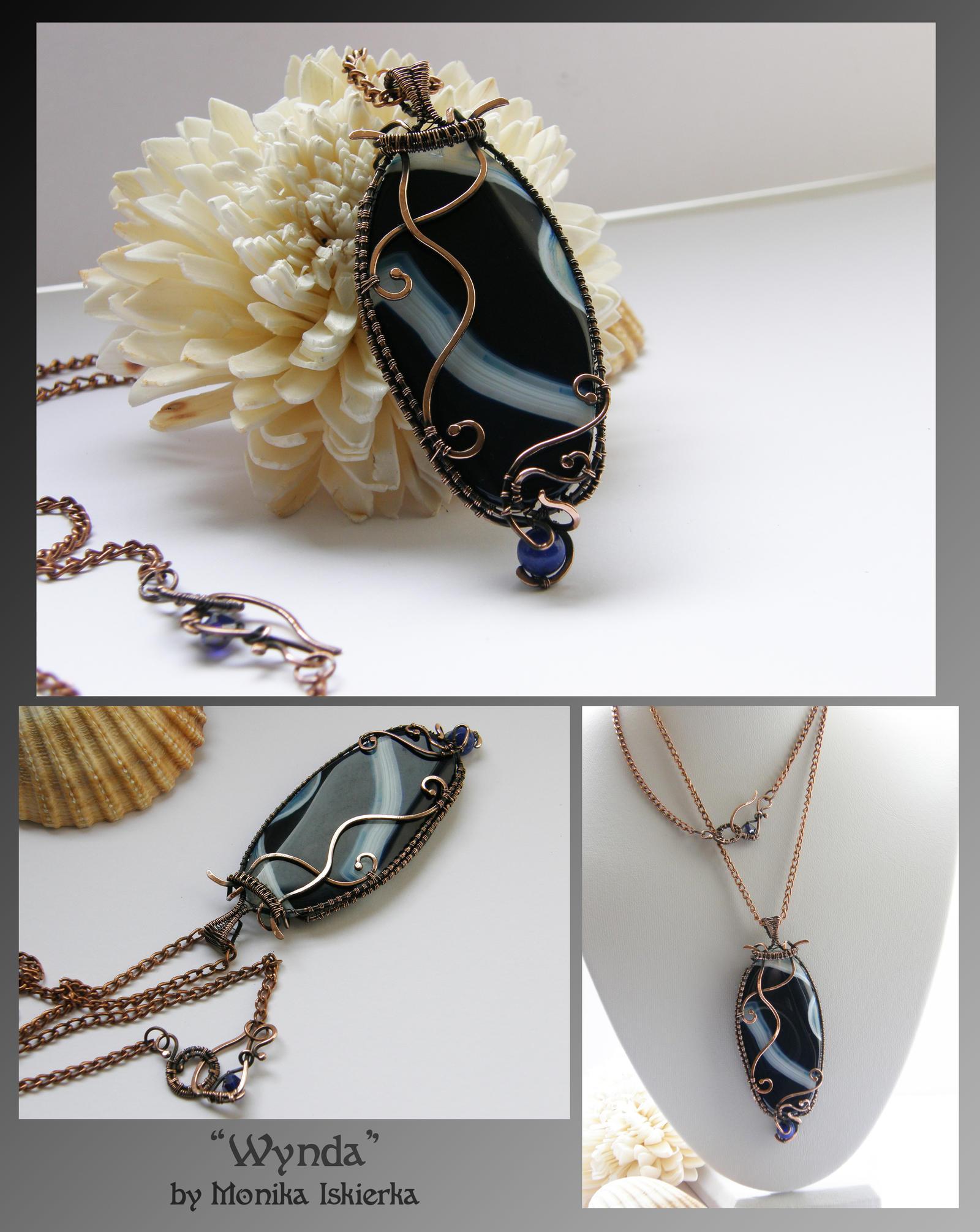 Wynda- wire wrapped necklace