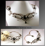Sassa- wire wrapped necklace