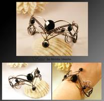 Sassa- wire wrapped bracelet by mea00