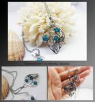 Gwendolyn- silver necklace
