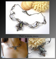 Paili- wire wrapped necklace Renewed by mea00