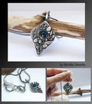 Silver Clay necklace 2