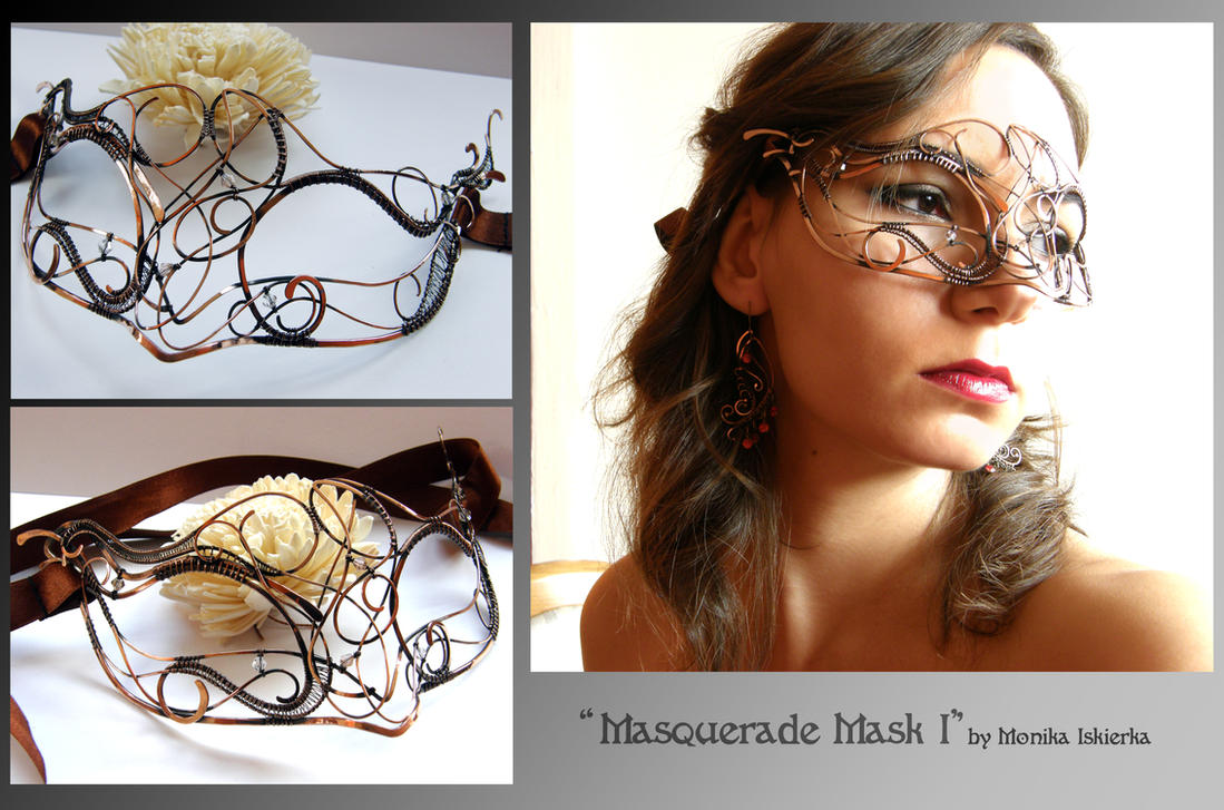 Masquerade Mask I by mea00