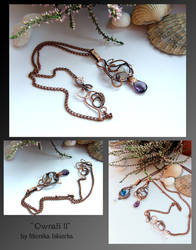 Ownah II- wire wrapped copper necklace by mea00