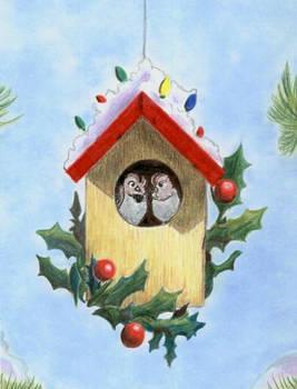 Christmas 2009 Birdhouse