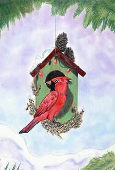 2010 Christmas Birdhouse