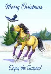 Christmas Horse 2013