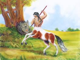 Centaur by calzephyr