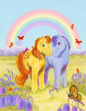 Pastel Pony Friends