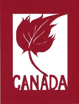 Oh Canada Papercut