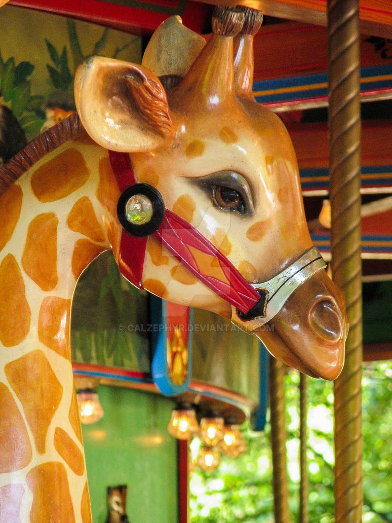 Woodland Park Zoo Giraffe Carousel by calzephyr