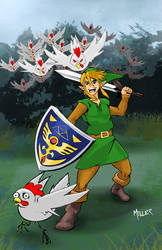 Link: Attack of the Cuccos by lordmylar06