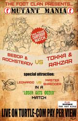 TMNT Wrestling Poster