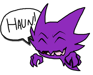 Haunter: Art trade by PHCRohr