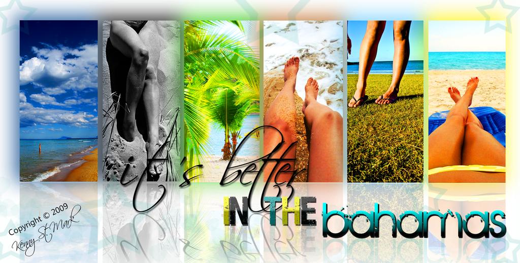 Bahamas Graphical Wallpaper 5 by Kennyjohn