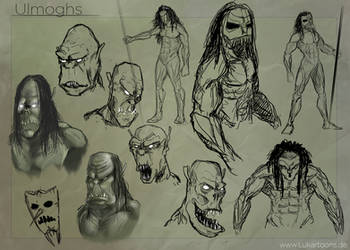 Charakter-Concept-Sketches by Lukartoons