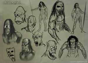 Charakter-Concept-Sketches