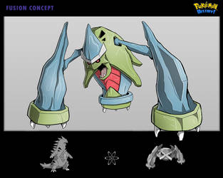 Pokemon-Fusion-Concept by Lukartoons