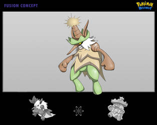 Pokemon-Fusion-Concept II by Lukartoons