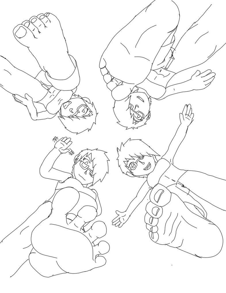 Four Playful Erimas Pov By Darz213 by DeReith